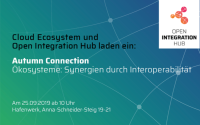 Tochterunternehmen elastic.io auf der Autumn Connection am 25. September 2019